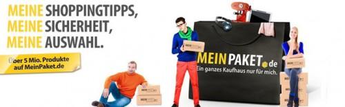 MeinPaket: Ab sofort 9% Rabatt auf das komplette Sortiment