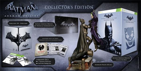 Batman: Arkham Origins Collector's Edition (PS3, Xbox 360) für 52,97 € *Update* jetzt für 47,97 €