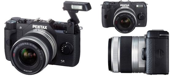 Systemkamera Pentax Q10 mit 5-15-mm- und 15-45-mm-Objektiv für 349 € - 13% sparen