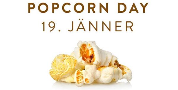 Cineplexx: 1 Kübel Popcorn kostenlos zu eurem Kinobesuch am 19. Jänner