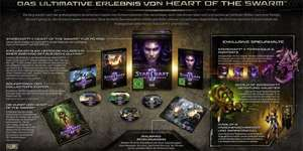 StarCraft II: Heart of the Swarm (Add-On) in der Collector's Edition für 34,97 € - 41% sparen