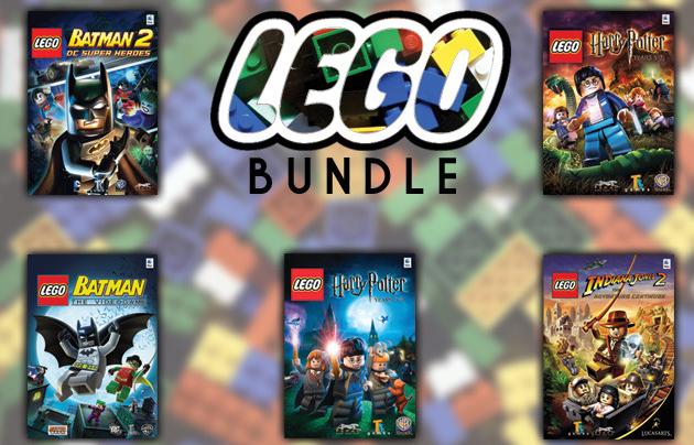 The LEGO Gamer Bundle For Mac für 29,32 € bei StackSocial - 65% Ersparnis