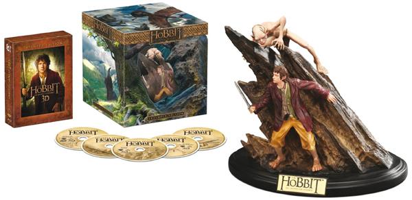 Der Hobbit: Eine unerwartete Reise (2D/3D Extended Sammleredition) mit WETA-Statue für 49,97 €