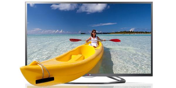 LG 47LA6418 (3D, WLAN, Triple-Tuner, Smart TV) für 579 € bei Amazon