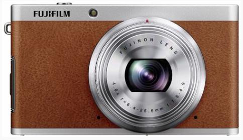 Kompaktkamera Fujifilm XF1 (12 MP, 4x opt. Zoom) im Retro-Design für 175,90 €