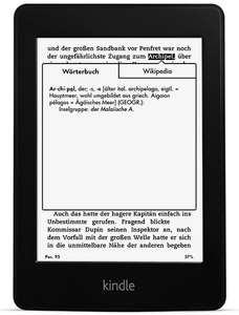Top! Kindle Paperwhite (2013) für 99 € *Update* jetzt inkl. 20€ Amazon Gutschein