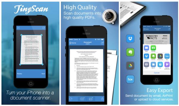 TinyScan Pro für iOS gratis im App Store