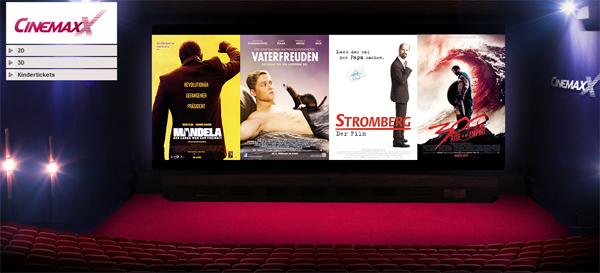 CinemaxX-Tickets günstig bei vente-privee kaufen - z.B. 5 Tickets für zusammen 28 €