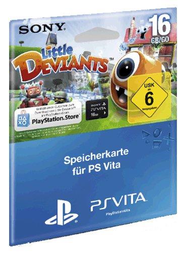 PlayStation Vita Speicherkarte (16 GB) + Little Deviants für 33,29 € - 15% sparen