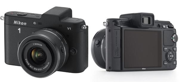 Systemkamera Nikon 1 V1 mit 10-33 mm Objektiv für 255,90 € bei iBOOD - bis zu 22% sparen