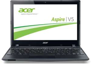 Multimedia Notebook Acer Aspire V5-131-987B4G50akk für 295 € bei Amazon