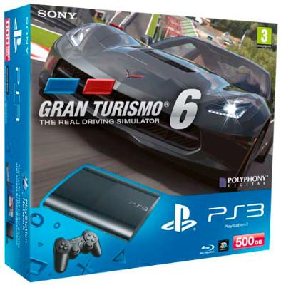 Tagesdeal bei Saturn: PS3 Superslim 500GB + Gran Turismo 6 für 200 € statt 250 €