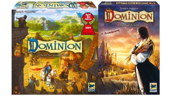 Super! Dominion (Spiel des Jahres 2009) + Erweiterung für 19,95 € - 54% sparen