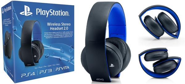 Sony Wireless Stereo Headset (PS4) für 79,95 € bei Amazon - 11% sparen