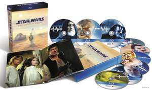 Saturn.at: Star Wars: The Complete Saga I-VI (Blu-ray) für 66 € - 16% Ersparnis