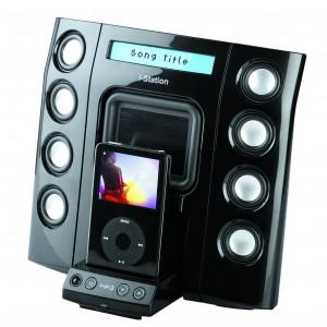 iPod Dockingstation Logic3 MIP108K i-Station 8 für 50€