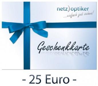 25 € Netzoptiker.de Gutschein für 15 € - bis zu 40% sparen