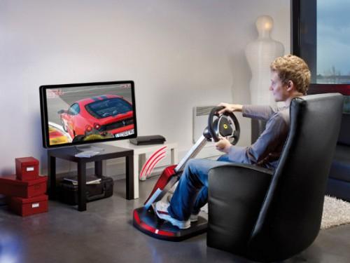 Thrustmaster GT Ferrari WL Cockpit 430 Scuderia (PC + PS3) um 120 € - 39% sparen