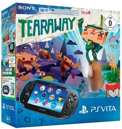 Sony PlayStation Vita (WiFi) + Tearaway für 148,02 € bei Amazon *Update* 22% Ersparnis