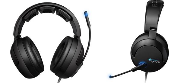 5.1 Gaming-Headset Roccat Kave Solid für 59,99 € statt 76,23 € - 21% sparen