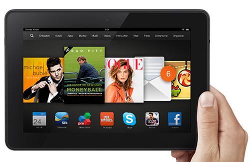 Hohe Rabatte auf alle Tablets der Kindle HDX 8.9-Serie *Update* jetzt ab 265,30 €