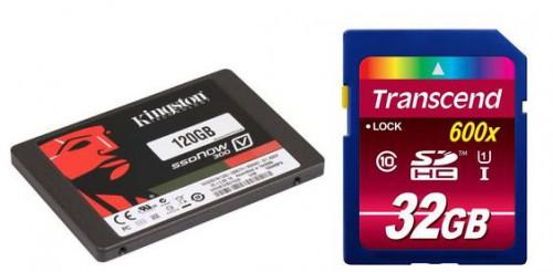 Kingston SSDNow V300 interne SSD-Festplatte - mit 120GB für 55 € - 10% sparen