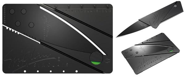 Iain Sinclair Cardsharp 2 - Messer in Kreditkartengröße ab 10,98 € - bis zu 44% sparen