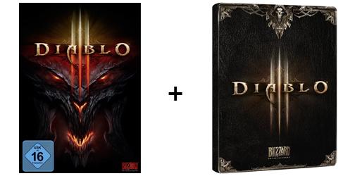 Diablo 3 (PC/Mac) + Steelbook für 19 € bei Amazon *Update* jetzt für 16,97 € - 48% sparen