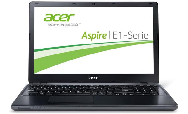 Einsteiger-Notebook Acer Aspire E1-530-21174G50Mnkk für 333 € - 26% sparen