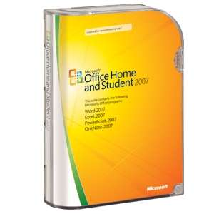 [PC] MS Office 2007 + MS Notebook Maus und Webcam für 106€