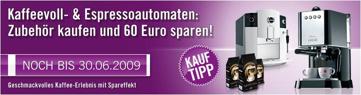 60€ Rabatt auf Kaffeevollautomaten bei Cyberport - Bis zu 40% Ersparnis
