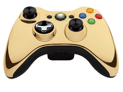 Limitierte Special-Edition: Xbox 360 Wireless Controller in Chrome Gold um 19 € - bis zu 56% sparen