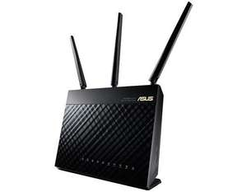 Asus RT-AC68U AC1900 Black Diamond Dual-Band-Router für 149,90 € - 12% sparen