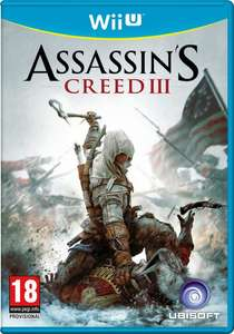 Assassin's Creed 3 (Wii U) für 9,55 € - 27% sparen