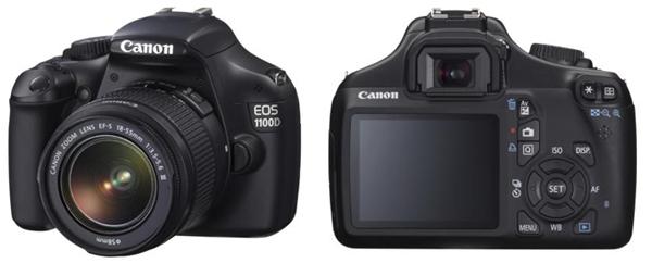 Spiegelreflexkamera Canon EOS 1100D mit 18-55 mm für 222 € - 26% sparen