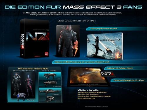 Mass Effect 3 (N7 Collector's Edition) für PS3 um 5 € - bis zu 89% sparen