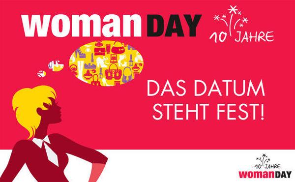 Vorabinfo: Am 03. April ist wieder Woman Day