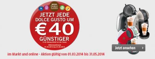 Krups Dolce Gusto-Maschinen stark verbilligt - bis zu 42% sparen