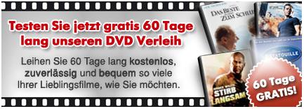 [Filme-Verleih] 60 Tage kostenlos LoveFilm
