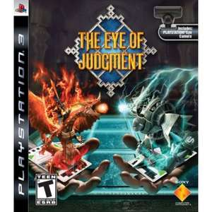 [PS3] The Eye of Judgment inkl. Webcam für 20€