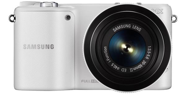 Systemkamera Samsung NX2000 mit 20-50-mm-Objektiv für 229 € - bis zu 19% sparen