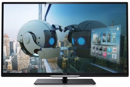 """LED-Backlight-Fernseher von Philips (50"""" FullHD, WLAN, 200 Hz, uvm) um 575 € - bis zu 11% sparen"""