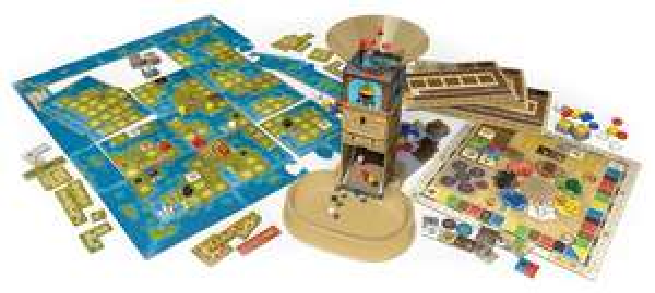 """Queen Games Brettspiel """"Amerigo"""" für 39,98 € bei Amazon - bis zu 20% sparen"""