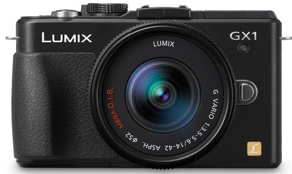 Panasonic Lumix DMC-GX1 mit 14-42 mm-Objektiv für 306,44 € - 17% sparen