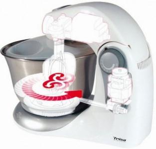Trisa Küchenmaschine (Knet- und Rührgerät) um 40 € - 50 % sparen