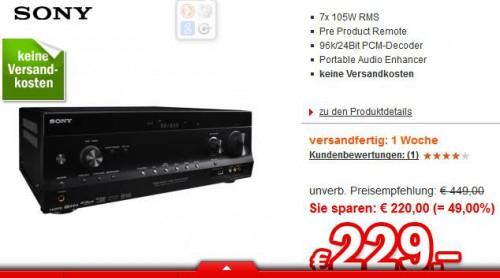 Sony STR-DH820 (7.2 AV-Receiver) ab 229 € - bis zu 49% sparen