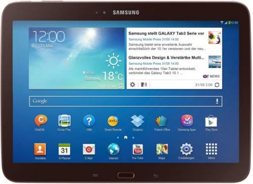 "Samsung Galaxy Tab 3 (10,1"", 16 GB, UMTS) für 249 € - 12% sparen"