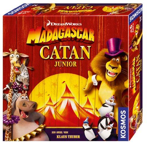 Kosmos Madagascar Catan Junior für 9,49 € bei Spiele-Offensive - 26% sparen