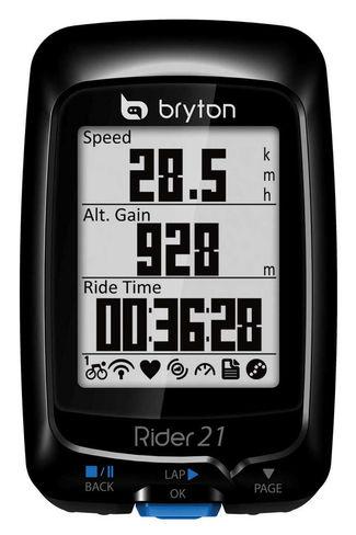 Fahrradcomputer Bryton Rider 21T mit Pulsmesser für 129,99 € - 34% sparen