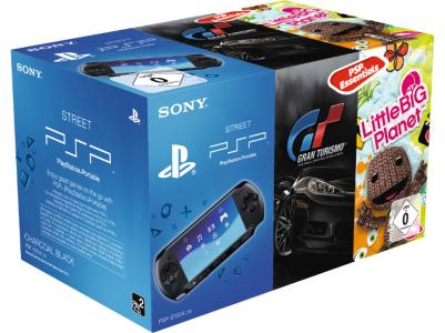 PSP Bundle - PlayStation Portable + Gran Turismo + LittleBigPlanet um 88 € - bis zu 11% sparen